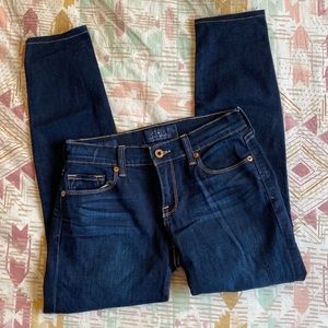 Lucky Brand Sofia Skinny Dark Wash Jeans 0/25